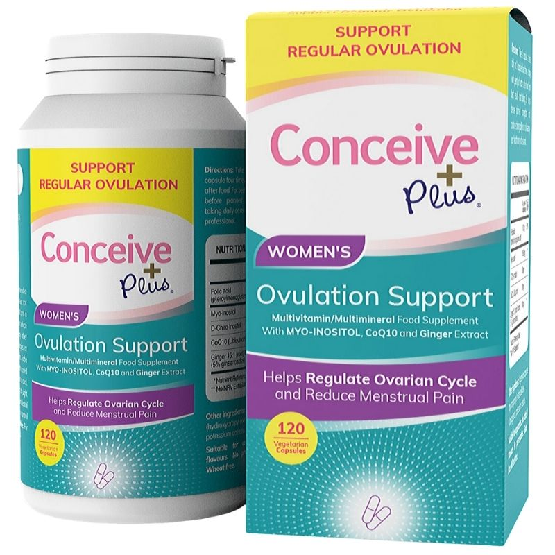 Conceive Plus Ovulation Support 120 caps (UK) (Ctn 24 units)