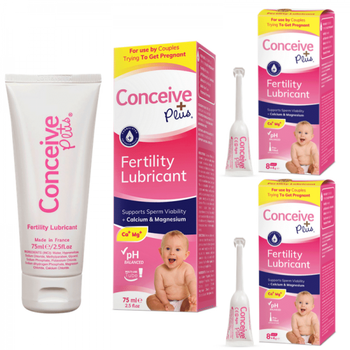 [BDL842452] Conceive Plus 75ml/2.5 fl.oz + 16 Applicators **2 Months Supply**