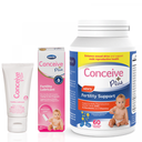 Conceive Plus Men's Fertility Support 60 Caps + 30ml Lubricant