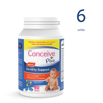 [19337213007013] Conceive Plus Men's Fertility Support 60 Caps (6 Units)