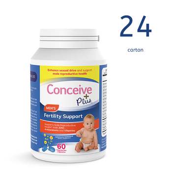 [29337213007010] Conceive Plus Men's Fertility Support 60 Caps (Ctn 24 units)