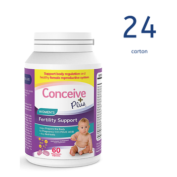 [29337213007003] Conceive Plus Womens Fertility Support 60 Caps (Ctn 24 units)