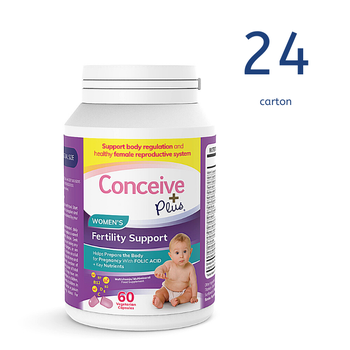 [29337213007089] Conceive Plus Womens Fertility Support 60 Caps (Ctn 24 units) (GB)
