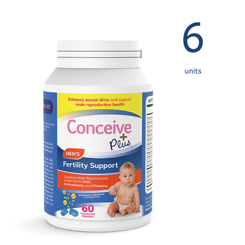 [19337213007099] Conceive Plus Men's Fertility Support 60 Caps (6 Units) (GB)