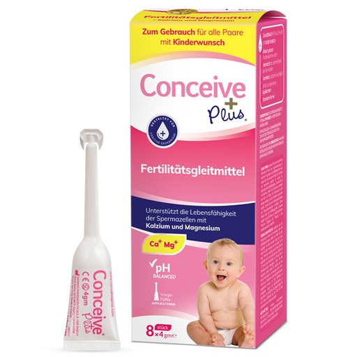 [880860] Conceive Plus Fertility Lubricant 8x4g (Applicators) - German