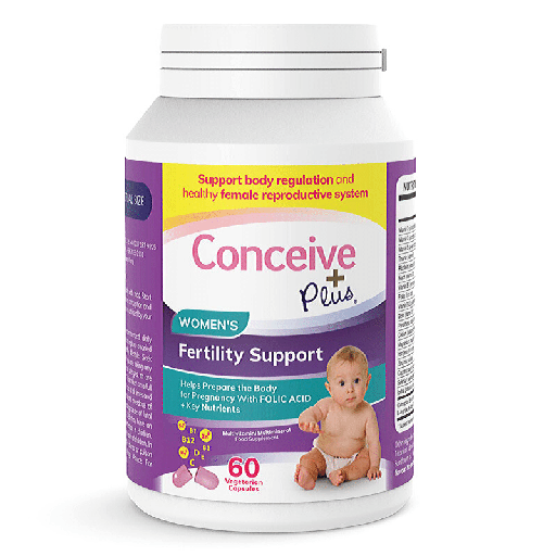 [870708] Conceive Plus Women's Fertility Support – Vitamines de Fertilité 60 Capsules